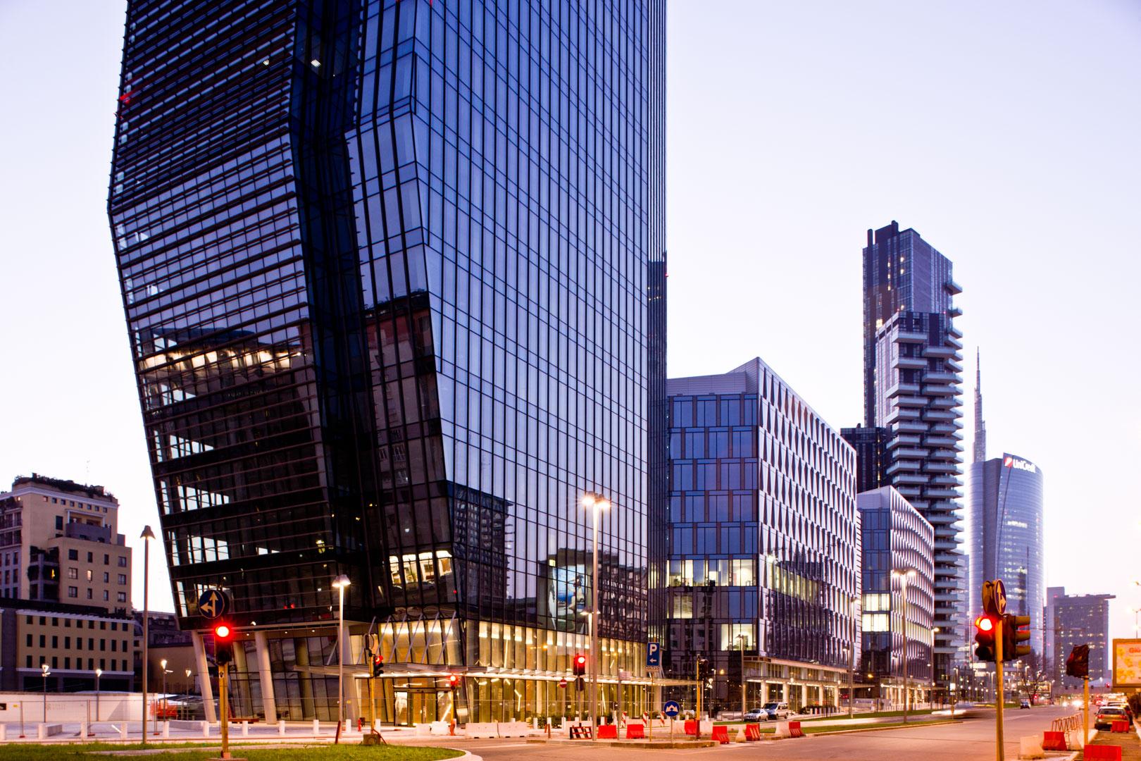 Milano porta nuova servizio fotografico di architettura for Quartiere city life