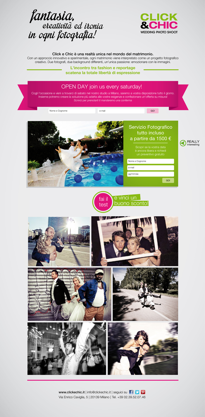 Click&Chic   Landing Page