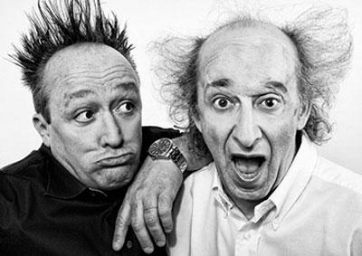 Zelig e Colorado | Shooting fotografico con i comici