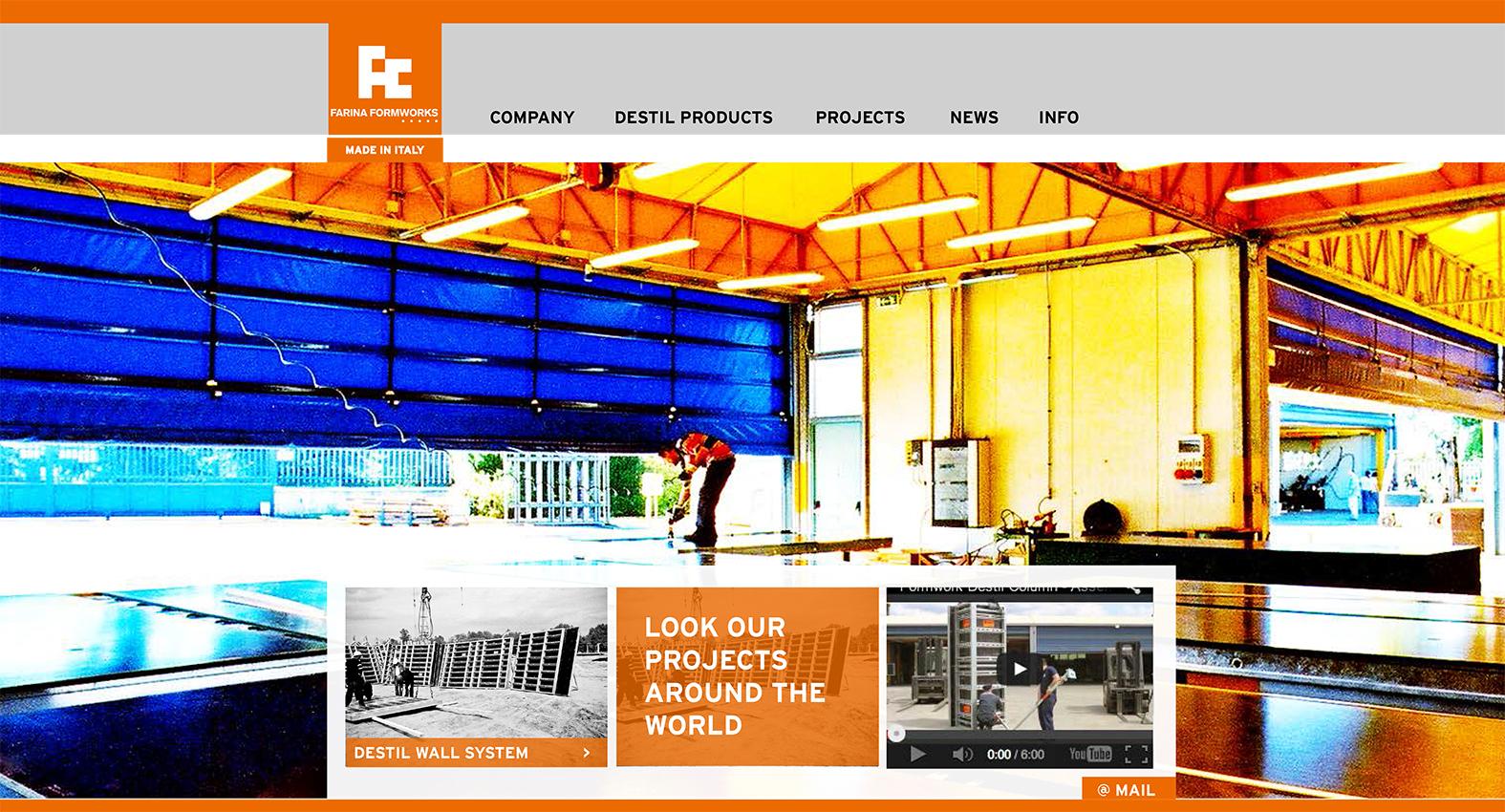 Destil Formworks   sito web