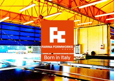 Farina Formworks | sito web e progettazione grafica