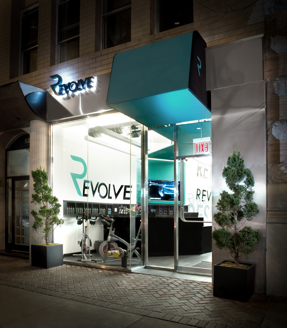 Photo Wall per Revolve Fitness - New York City