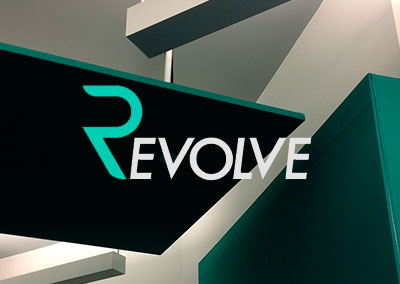 Revolve Fitness New York | Realizzazione photo wall