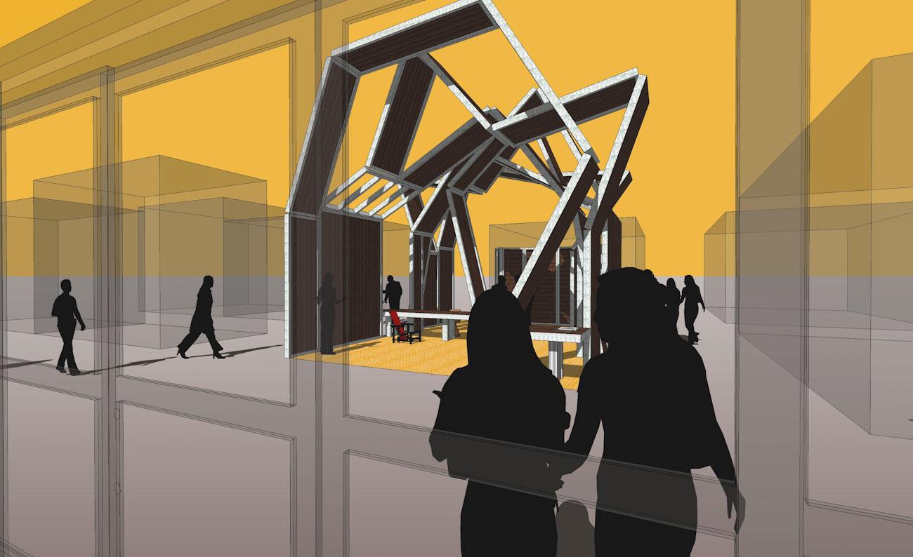 Las Vegas Pavilion Destil Formwork