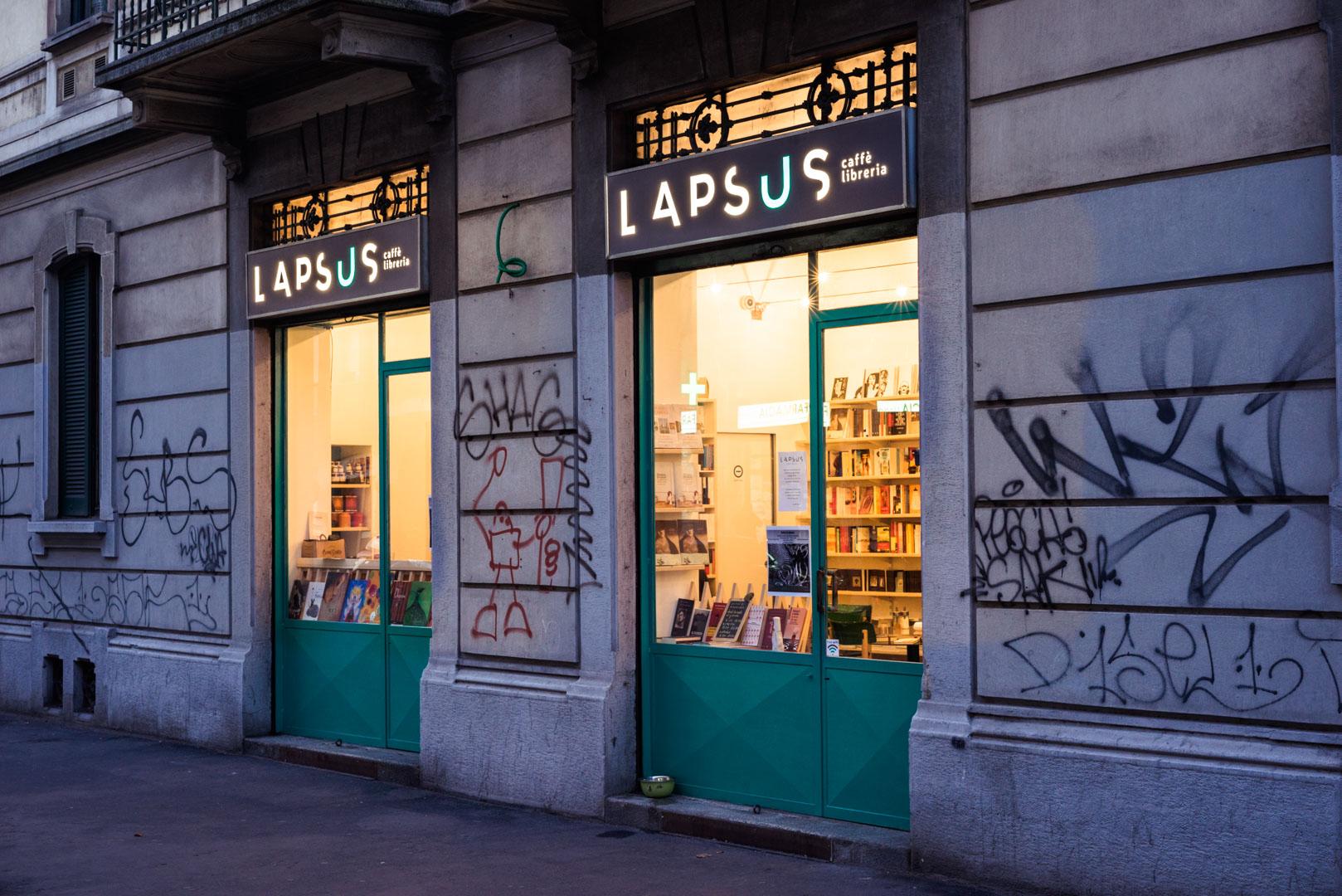 LAPSUS Café Libreria | Logo Design, Brand Identity e Web Design