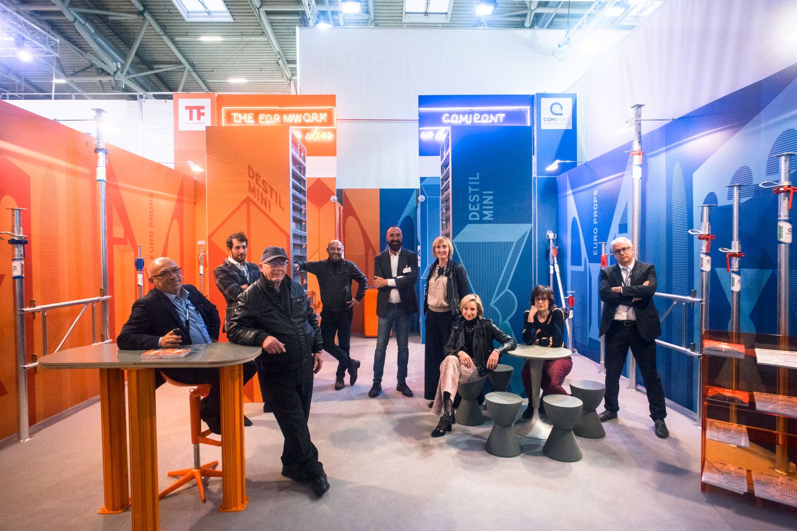 The Formworks - Bauma 2017 | Progettazione grafica e Art Direction
